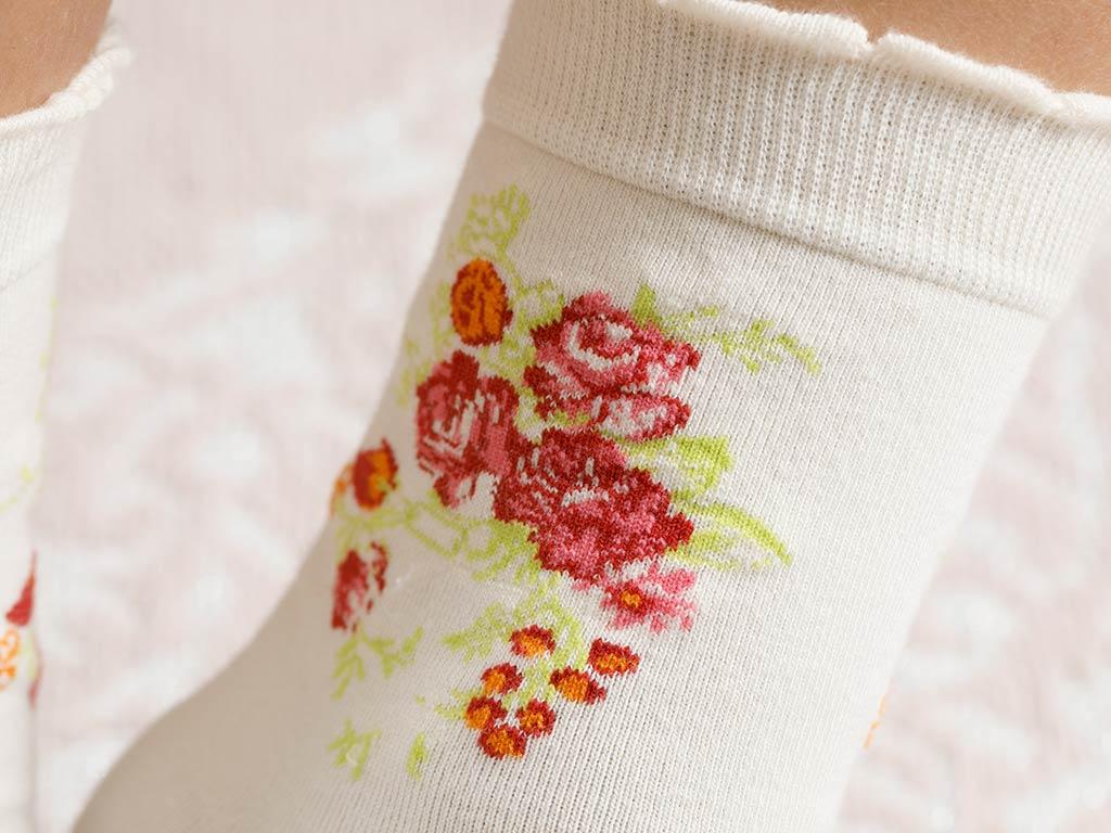 Flower Cotton Socks Mix