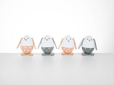 Easter Play Декоративен Предмет 4x20x6 См Оранжево