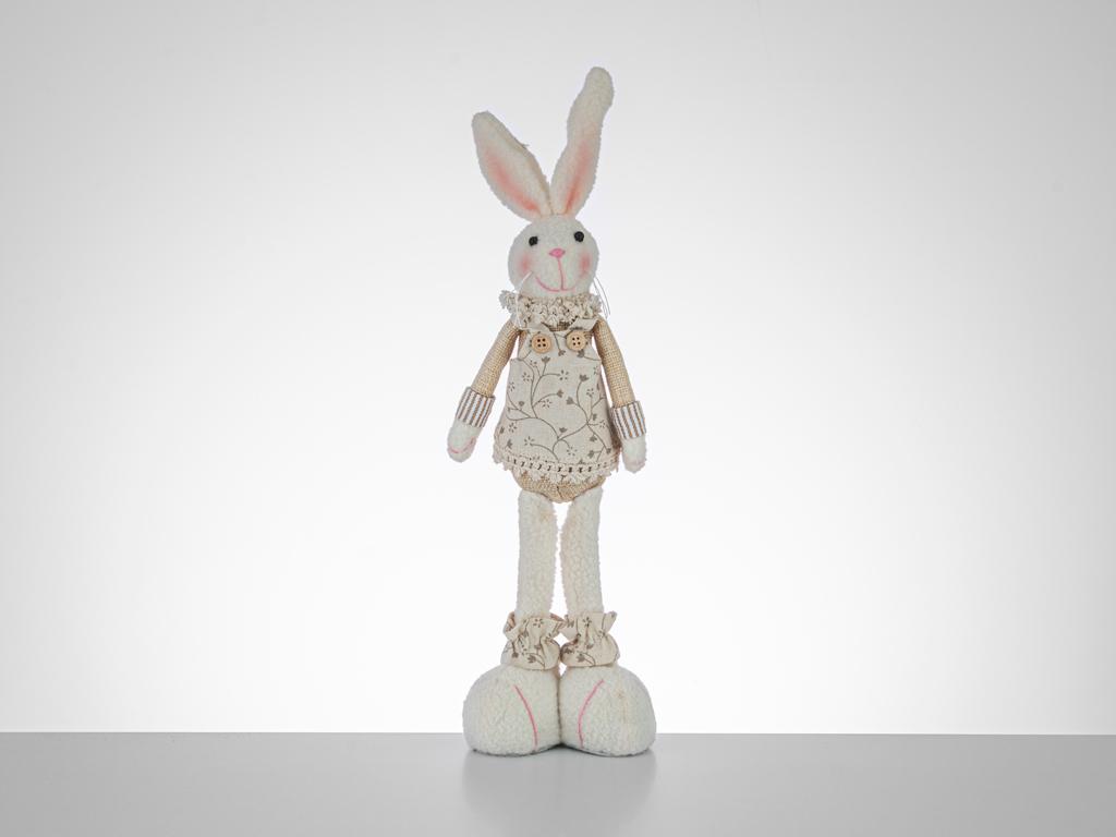 Easter Love Fabric - Wood Biblo 28 Cm Pembe - Bej