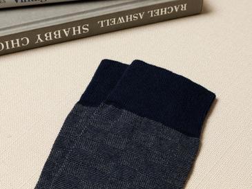 Square Чорапи Стандарт Тъмносиньо