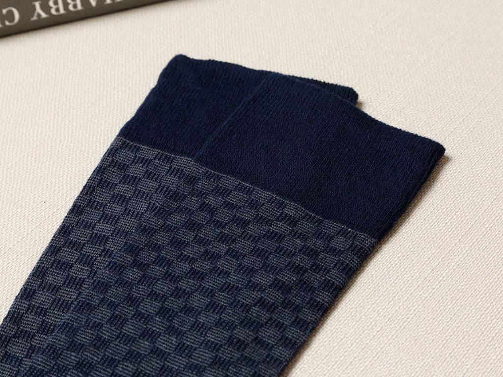 Matris Cotton Socks Mix Dark Blue