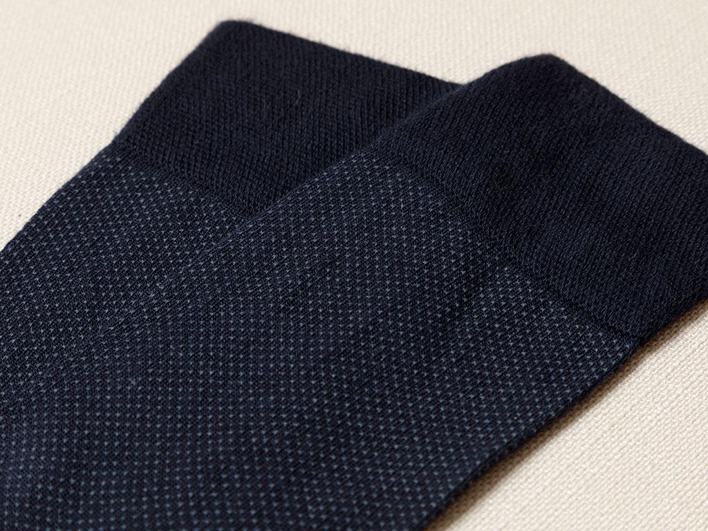 Little Bamboo Socks Navy Blue