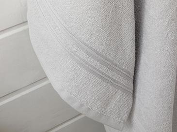 Thin Stripe Комплект Хавлии за Баня 50x85 См-70x140 См Светлосиво