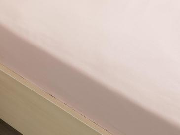 Plain Чаршаф с Ластик Единичен Размер 100x200 См Светлорозово