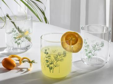 Rosses Чаша за Безалкохолно 3 Бр. 270 Мл Зелено