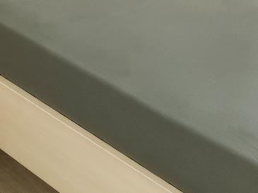 Plain Комплект Чаршафи с Ластик Единичен Размер 100x200 Зелено
