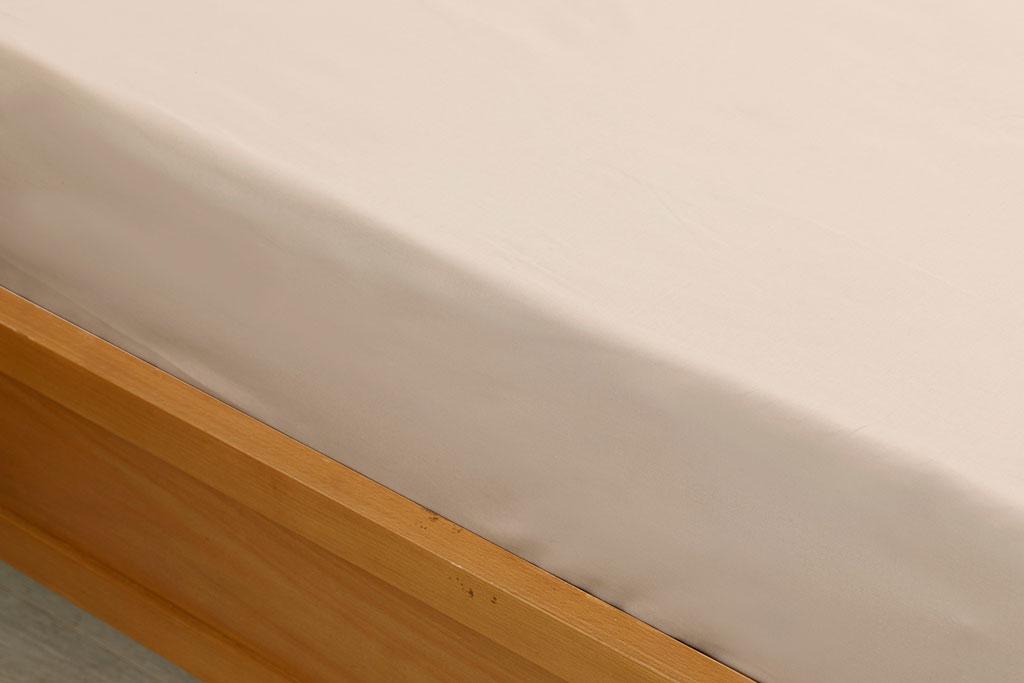 Plain Cottony King Size Fıtted Sheet 180x200 Cm