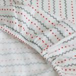 Penguins Flanel Baby Duvet Cover Full Set 100x150 Cm Gray