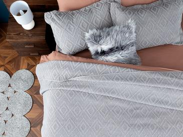 Diamond Chic Комплект Покривало за Легло Двоен Размер 240x250 См Бежово