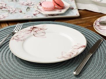 Magnolia New Bone Чиния за Десерт 20 См Розово