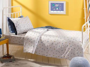 Robots Комплект Детско Спално Бельо 160x220 См Индиго