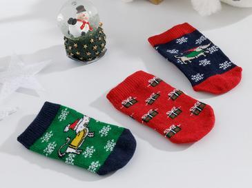 Dogs Бебешки Чорапи 6-12 Месеца Зелено