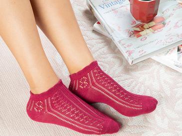 Fishnet Чорапи Стандарт Бордо
