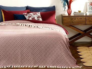 Diamond Покривка за Легло Двоен Размер 240x260 См Пепел от Рози