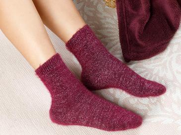 Elegance Чорапи Бордо