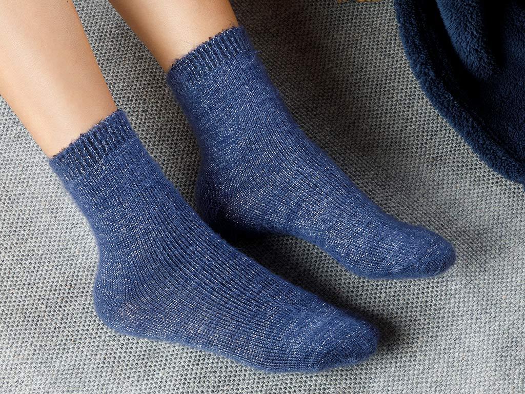 Elegance Socks Indigo