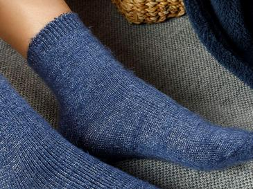 Elegance Чорапи Индиго