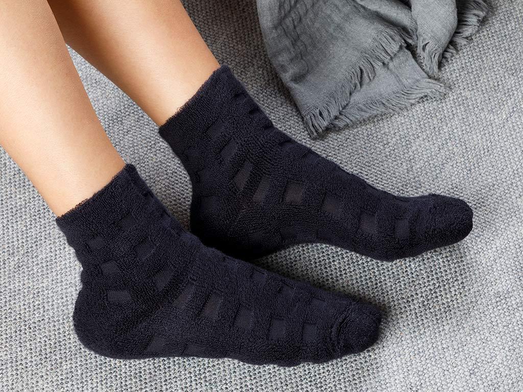Towel Cotton Polyester Socks Mix
