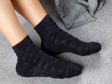 Towel Дамски Чорапи Тъмносиньо