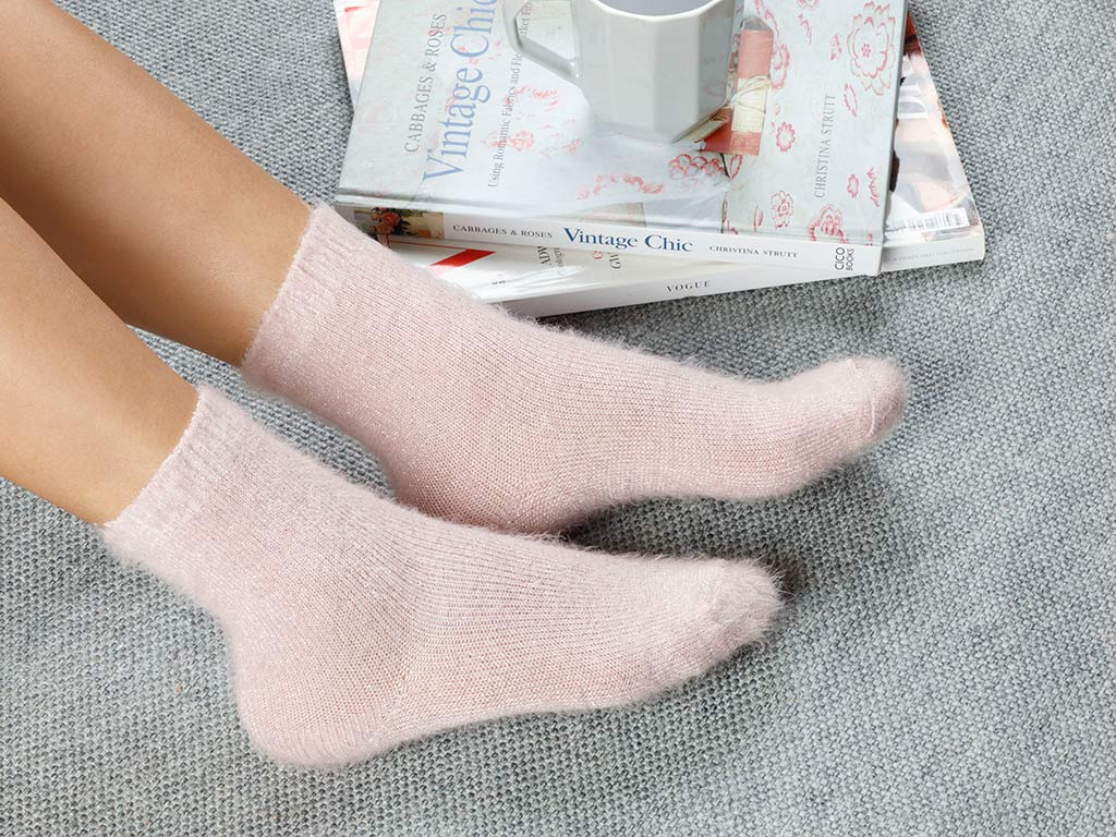 Elegance Socks Pink