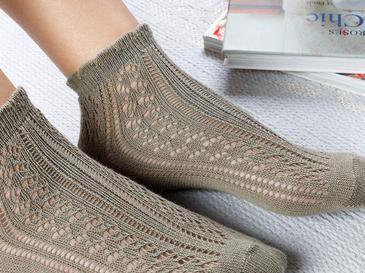 Fishnet Чорапи Стандарт Каки