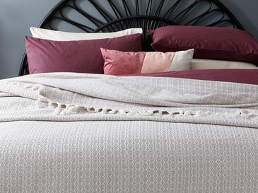 Bracket Покривка за Легло Единичен Размер 160x240 См Светлолилаво