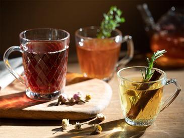 Mercy Чаша за Чай 160 Мл Прозрачно