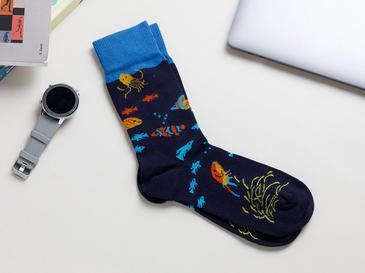 Fish Чорапи Стандарт Тъмносиньо