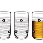 Glass Juice Glass 3 Piece 365 Ml