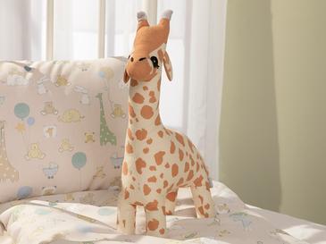 Mini Giraffe Декоративна Възглавничка 40x20 См Бежово