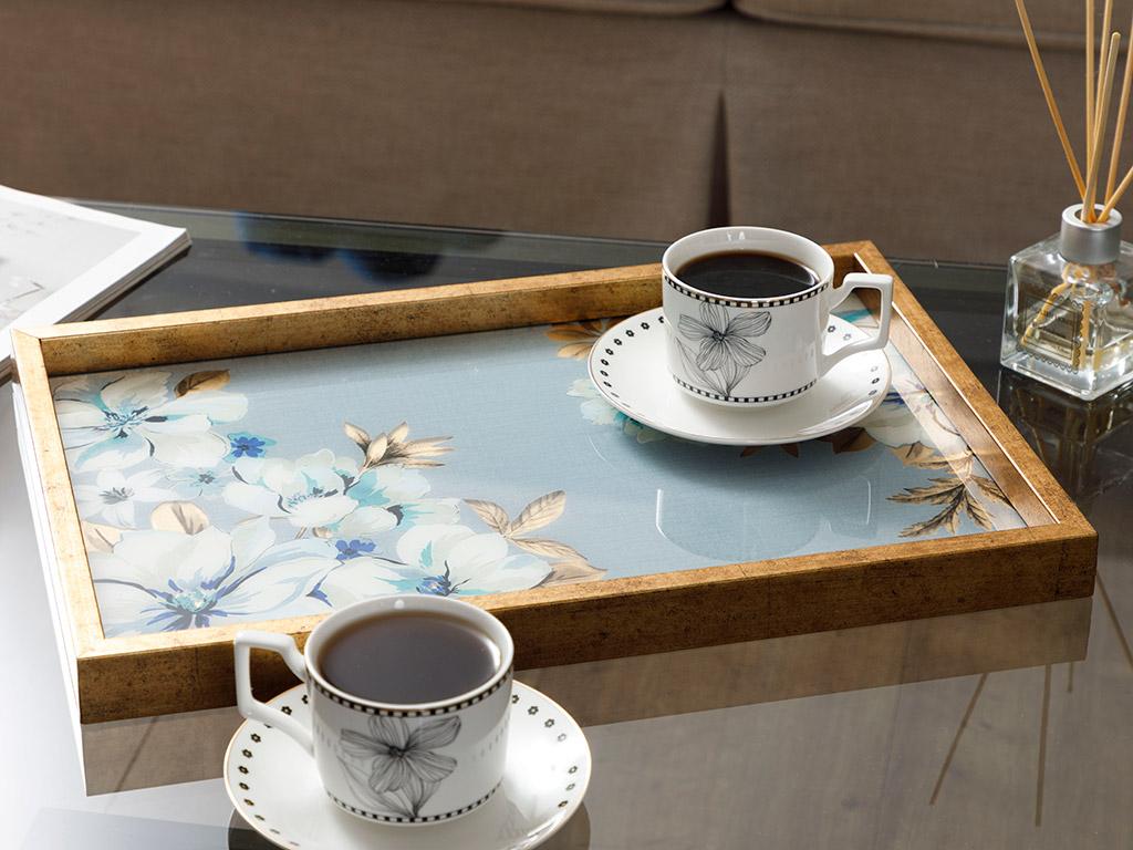 Glass Decorative Tray