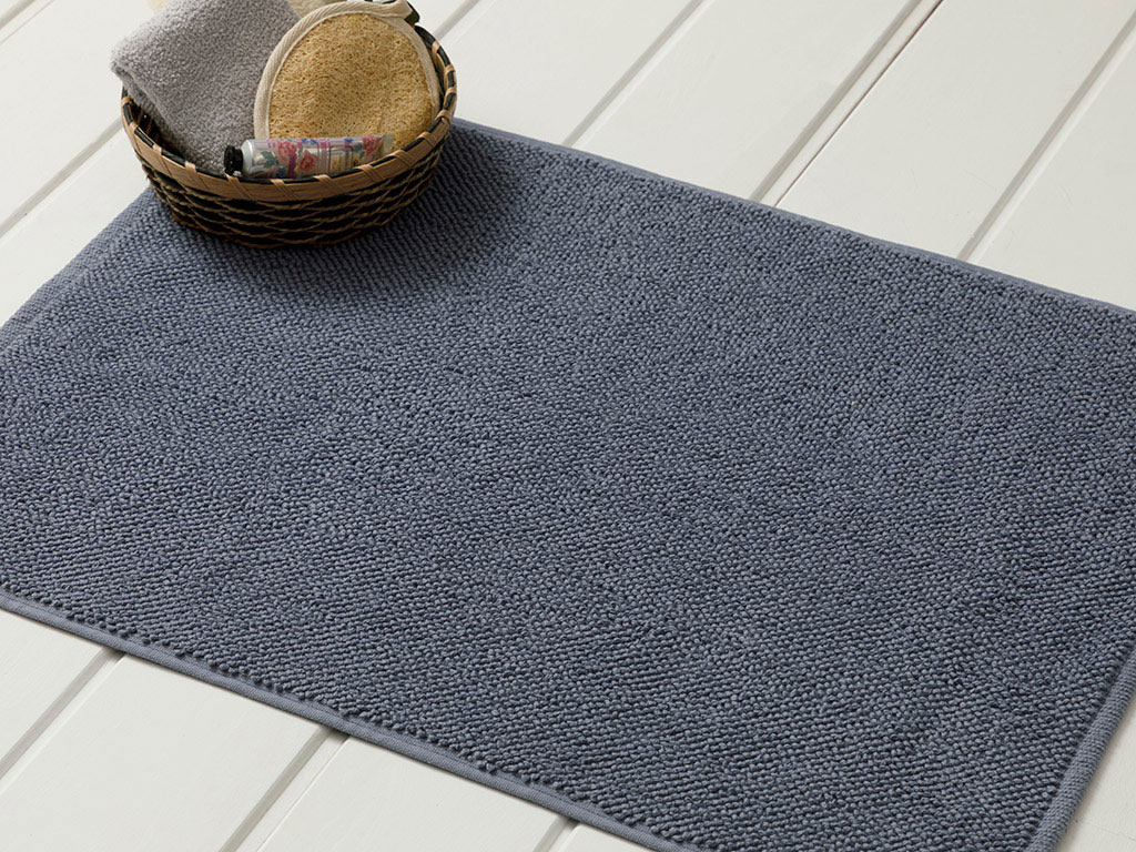 Vanity Brass Foot Towel 50x70 Cm Light Indigo