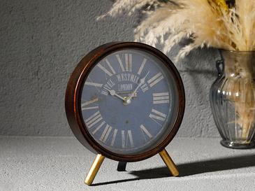 Gloria Часовник За Маса Метален Черно
