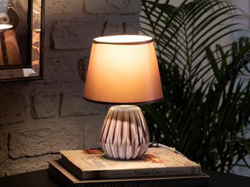 Nila Лампа Порцелан 18x18x26 См Лилаво