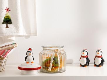 Penguin Буркан Буркан Стъкло 600 Мл Прозрачно
