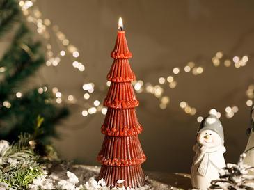 Pine Tree Свещ 7,5x7,5x22,5 См Слива