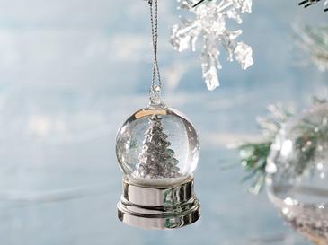 White Christmas Tree Преспапие 3,5x3,5x6,2 См Бяло