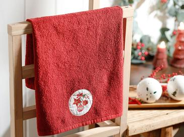 Christmas Ball Хавлия за Подарък 40x60 См Червено