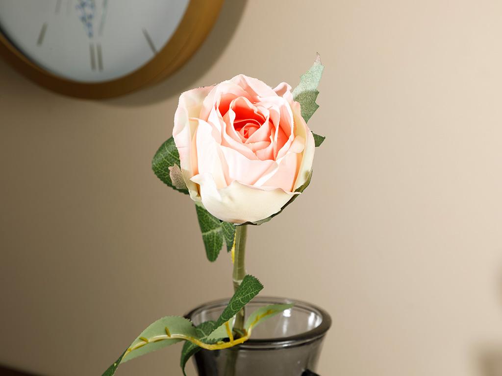 Dream Rose Artificial Flower 1 Piece 52 Cm Orange