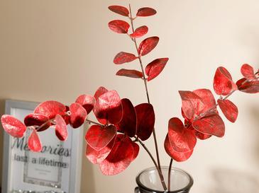 Garden Passion Една Клонка Изкустве Полиестер 75x300 Cm Бургундски