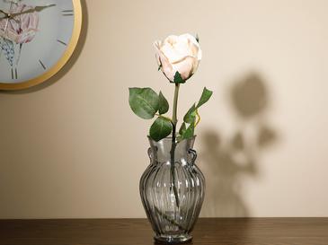 Dream Rose Изкуствено Цвете 52 См Кремаво