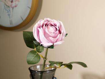 Dream Rose Изкуствено Цвете 52 См Лилаво