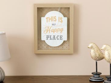 Happy Home Декоративно Табло Мдф 20x25 См Кафе