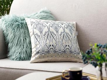 Art Nouveau Декоративна Калъфка за Възглавница 45x45 См Бежово