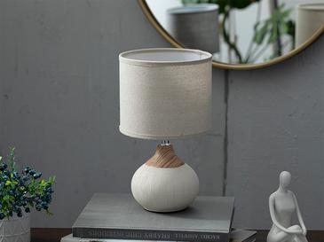 Melani Абажур Керамика 18x18x31,5 См Кремаво