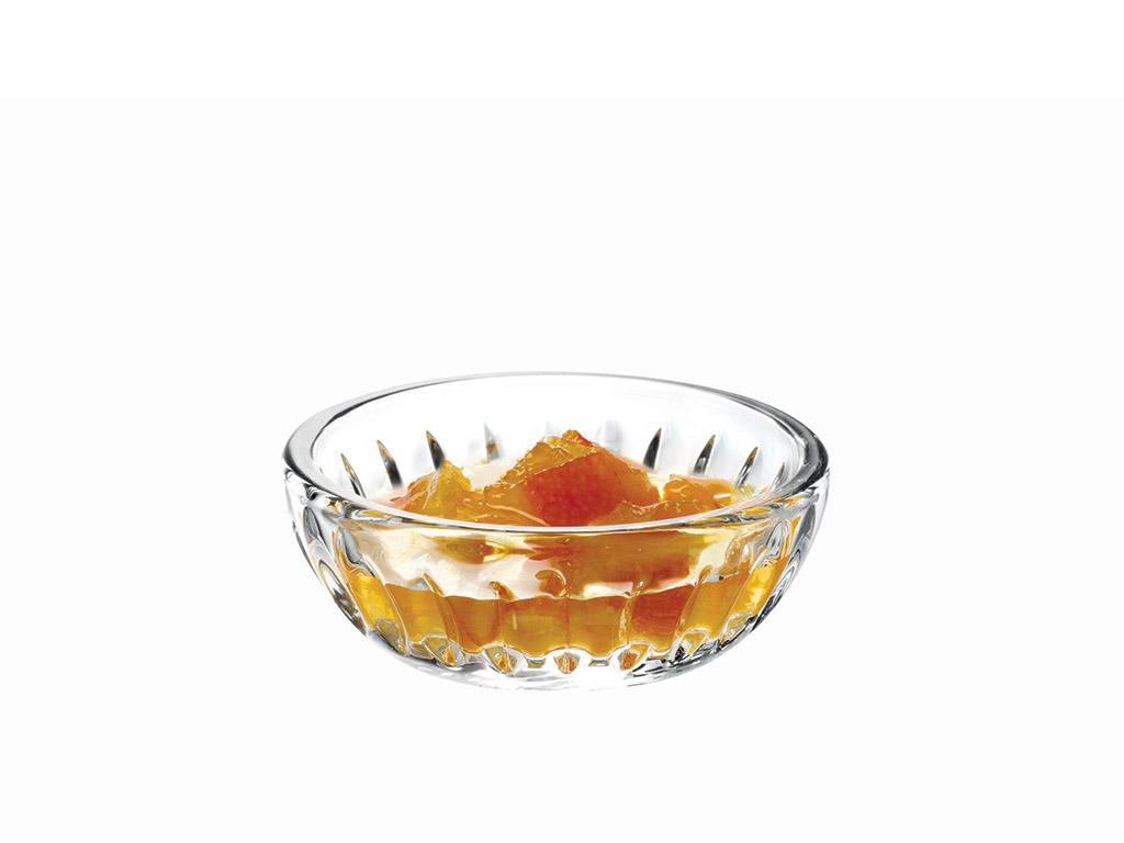 Lucia Glass Appetızers 8 Cm Şeffaf