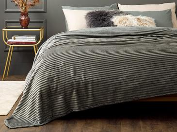Plain Одеало Единичен Размер 150x200 См Антрацит