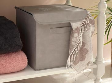 Hortensia Кутия за Съхранение 30x30x30 См Светлосиво