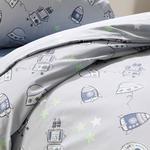 Space Комплект Детско Спално Бельо 160x220 См Сиво