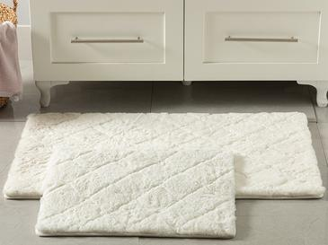 Rabbit Комплект Постелки за Баня 60x100-50x60 См Бяло